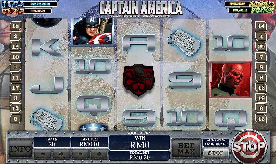 Win CAPTAIN AMERICA THE FIRST AVENGER   Bigchoysun.com   Online Live Casino Malaysia