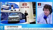 La Chine en pointe sur les voitures électriques