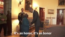 106 year old Women Dancing with President Barrack Obama and First Lady Michelle Obama