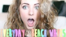 NO HEAT Beach Waves: Everyday Summer Hair Routine!   Aspyn Ovard