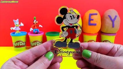 5 Play Doh Surprise Eggs Disney Toys
