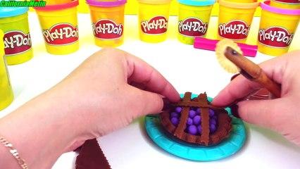 Play Doh How To Make Blueberry Pie Playdough