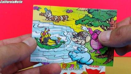 Kinder Surprise Eggs 1999 & 2003 Toys