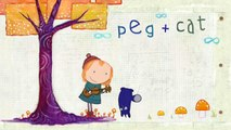 Peg + Cat S01 - EP7 The Parade Problem - The Halloween Problem   EP8 The Dinosaur Problem - The Beethoven Problem [HD]