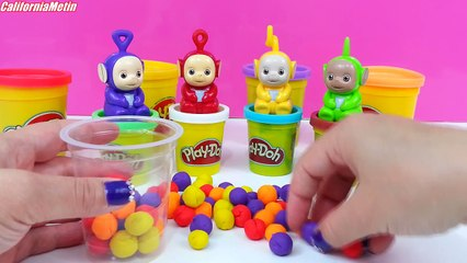 Play Doh Delicious Ice Cream With Teletubbies Playdough