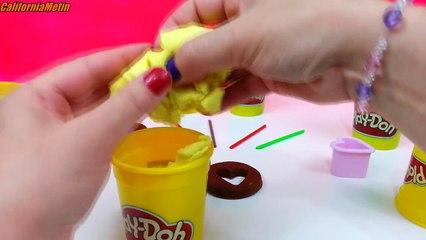 Play Doh Heart Lollipops Candy Playdough