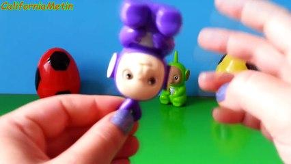 4 Surprise Eggs Teletubbies Toys