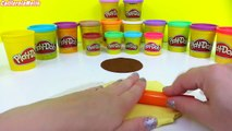 Play Doh How to Make Flower Cake Playdough