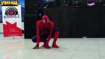 Spiderman, Frozen Elsa & Spiderbaby! Pink Spidergirl, Baby Farts & Joker! Superhero Fun in Real Life