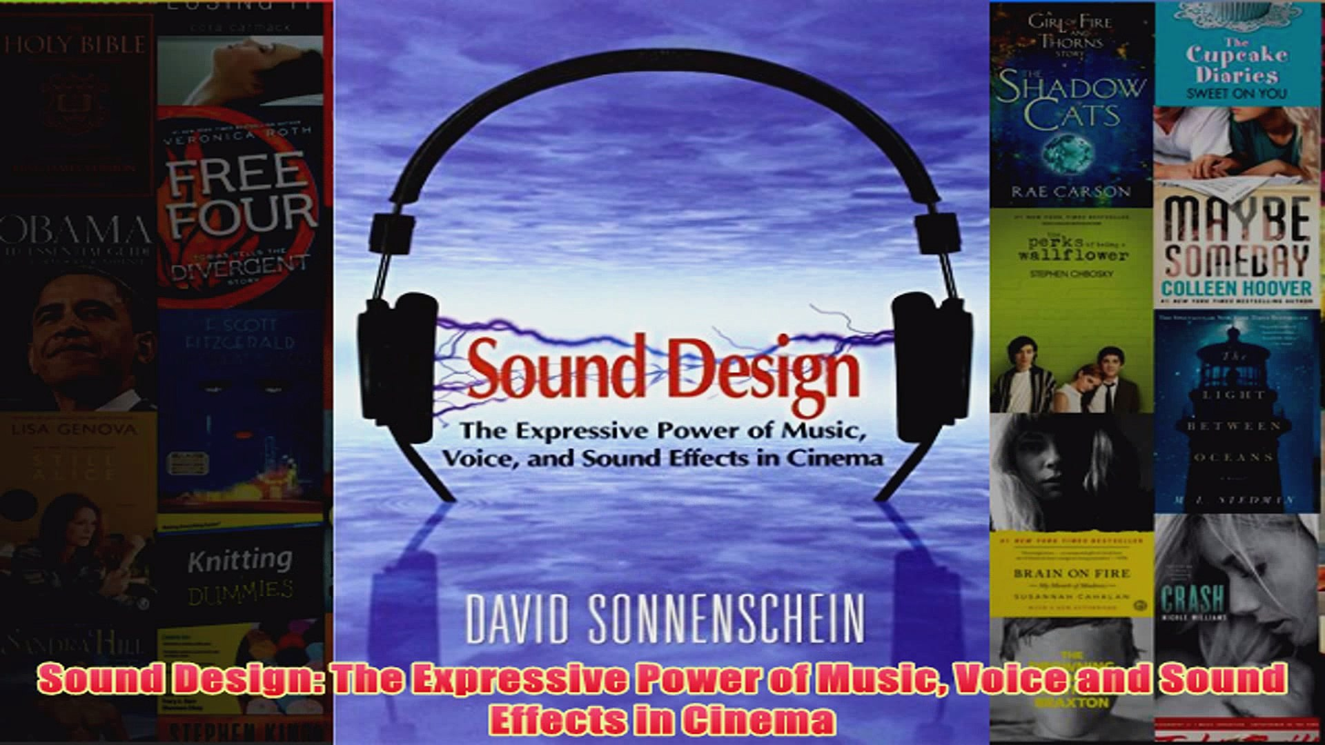 Download PDF  Sound Design The Expressive Power of Music Voice and Sound Effects in Cinema FULL FREE