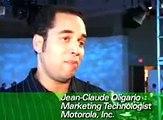 Steve Jobs featured in Motorola Motomediamania Event video (2005)