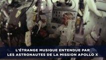 L'étrange musique entendue par les astronautes de la mission Apollo X