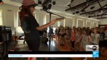 Girls rock! Empowering young women at music camp