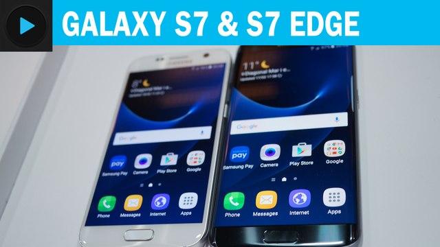 Galaxy S7 et Galaxy S7 Edge : prise en main
