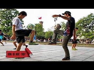 Hướng dẫn kỹ thuật bóng đá nghệ thuật Toe Bow | BĐNT