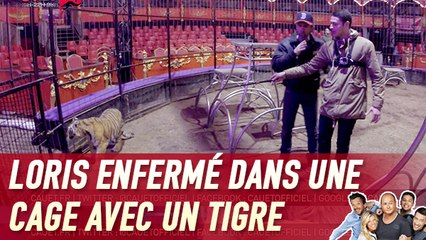 Loris enfermé dans une cage avec un tigre - C'Cauet sur NRJ