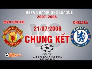 Man United vs Chelsea - Chung kết C1 2008