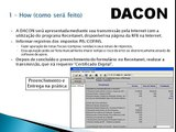 Definição/Como fazer a DACON Demonstrativo de Apuração de Contribuições Sociais