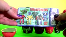 Spiderman Stacking Cups Nesting Toys SURPRISE with Peter Parker Symbiote & Transformers Optimum