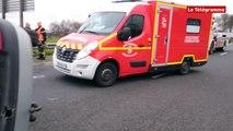Saint-Martin-des-Champs (29). Deux blessés graves sur la RN12