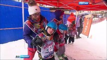Moscow hosted the Alpine skiing competitions of children with disabilities