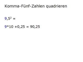 RT02 Die besten Rechentricks: Komma-Fünf-Zahlen quadrieren