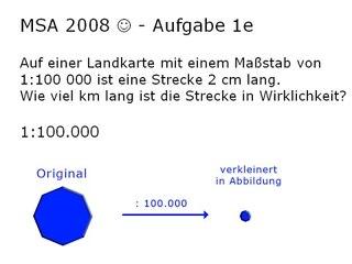 PR02-2: Berlin 2008 - Formel aus Textaufgabe, Maßstäbe