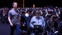 Virtual reality as a social media platform?