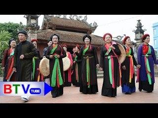 Hát chúc, hát mừng: Lời chào của các bọn Quan họ | BTV