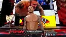 WWE Roman Reigns & John Cena vs Seth Rollins, Randy Orton & Kane 2-on-3 Handicap Match -