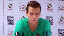 """Dubaï - Berdych : """"L'âge d'or du tennis me rend plus fort !"""""""