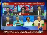 Imtiaz Alam try to make smile Hassan Nisar- interesting conversation