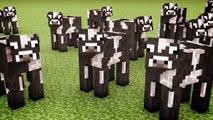 Minecraft Cows & Minecraft Cows & Minecraft Cows (Minecraft Animation)