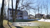 Home For Sale 4 Bedroom Central Bucks County 2834 Anna Street Warrington PA 18976 Real Estate