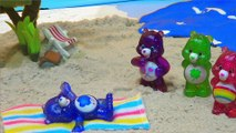 """Care Bears at the Beach: A Care Bears Movie""! An underwater Care Bear toys adventure!"