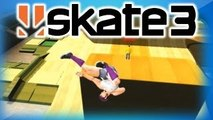 Skate 3 Funny Moments 3 - Chicken Dance, Kung Fu Fighting, Happy Hanukkah, and Going to Sl
