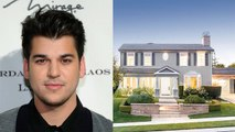 Inside Rob Kardashians New $2.3 Million Dollar Mansion -- That Kris Jenner Bought Him!