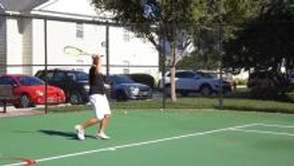 How To Hit A Nadal Buggy Whip Forehand