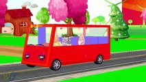 Wheels On The Bus | Nursery Rhymes Playlist for Children | Wheels On The Bus Kids Song