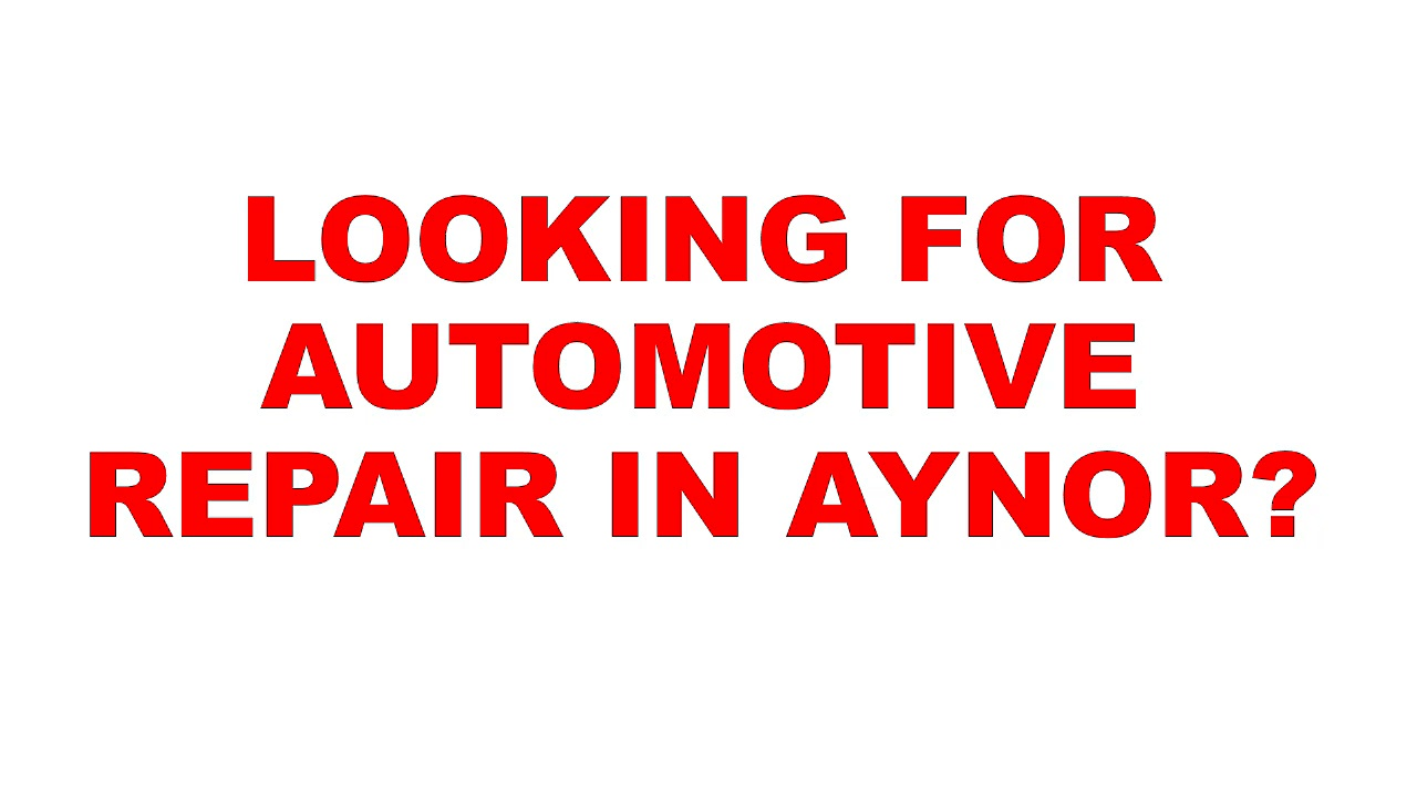 Aynor Automotive Repair | Automotive Repair In Aynor | Automotive Repair Aynor