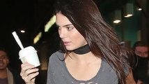 Kendall Jenner Grabs Some Burger King After A Late Night Of Partying!