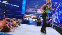 WWE Beth Phoenix vs. Vickie Guerrero, Michelle show