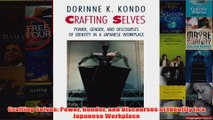 Download PDF  Crafting Selves Power Gender and Discourses of Identity in a Japanese Workplace FULL FREE