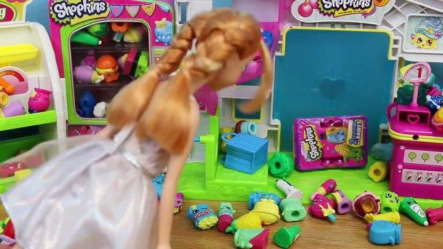 Frozen Elsa Shopkins Season 2 Disney Frozen Kids Alex Shopping for Surprise Shopkins Toys