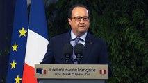 Discours du président de la République devant la communauté française à Lima au Pérou