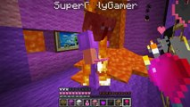 PAT And JEN PopularMMOs | Minecraft BURNING LOVE CREEPER ESCAPE EXPLOSIONS AND BURNING - Mini Game