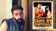 SHOLAY 3D TRAILER REACTION REVIEW #AMITABH BACHACHAN,AMJAD KHAN,DHARMENDRA