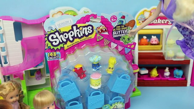 Frozen Kids Buy Shopkins Krista & Felicia Shopkins Shopping with Elsa & Anna by DisneyCarToys