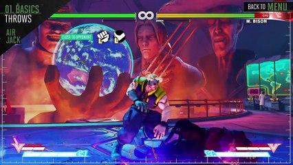 SFV - Guide Officiel de Nash de Street Fighter V