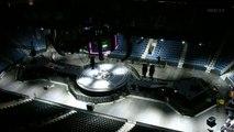 Montage de la scène colossale de MUSE pour le Drone World Tour - Time Lapse impressionnant